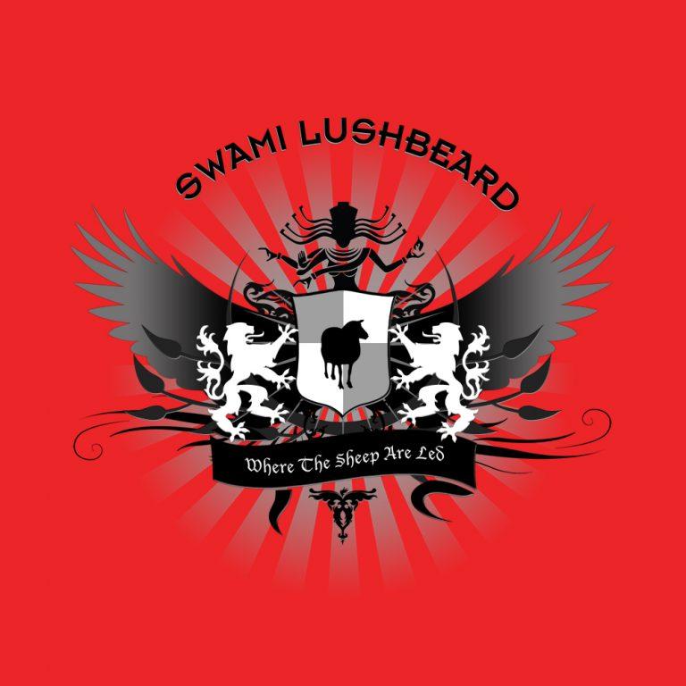 "Swami Lushbeard - ""Where the Sheep are Led"" Cover Art"