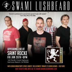 Swami Lushbeard - Saint Rocke – Hermosa Bch